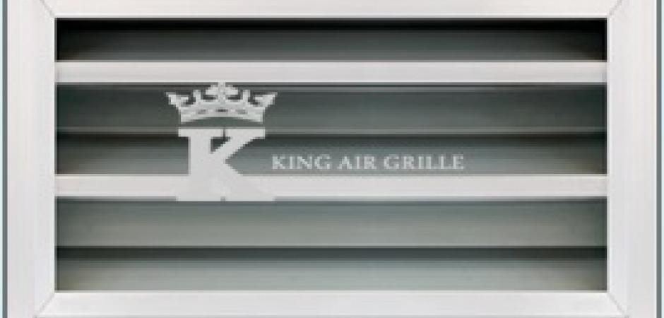 Wall Grille With Opposed Blade Damper : Louver air grille model kz king